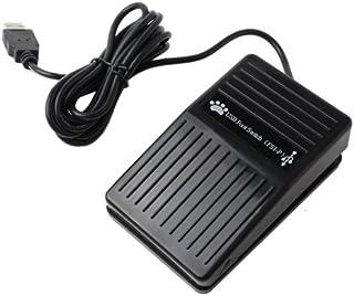 USB 足踏み スイッチ シングル フットペダル USB フット スイッチ ペダル 足踏み PC パソコン 接続 マウス USB足踏みスイッチ| ER-FOOT1