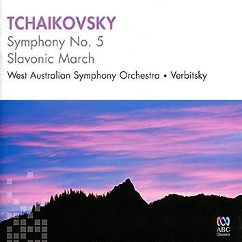 Tchaikovsky: Symphony No. 5 & Slavonic March