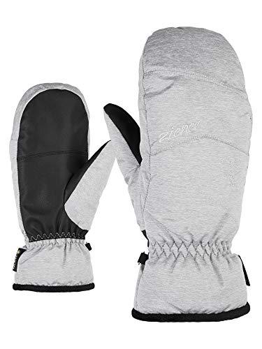 Ziener Damen KARRIL GTX MITTEN lady glove Ski-handschuhe/Wintersport | Wasserdicht, Atmungsaktiv, light melange, 8