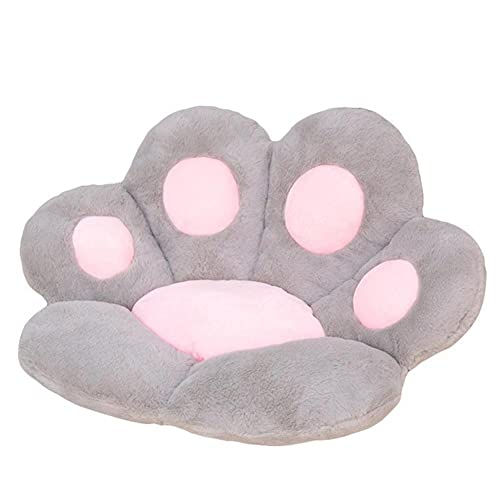 UKKD Memory Foam Stuhlkissen Chair Cushions Cute Cat Paw Shape Plush Seat Cushions for Home Office Hotel Cafe Home Cushion