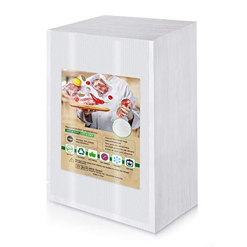 Bolsa de vacío para alimentos 100 piezas 25 x 30 cm dedicada a la máquina de sellado al vacío