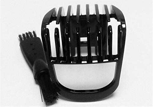 Cortador de Pelo PEINE Pequeño HAIR CLIPPER COMB Shaver Para PHILIPS 3000 Serie QT4013 QT4014 QT4015 QT4014/42 QT4015/16 QT4013/23 clipper head Trimmer Recortadora Small Comb Reemplazo Negro Nuevo