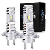 OPL5 Ampoule H7 LED, 40W 16000 Lumens 6500K Blanc Extrêmement Brillant Phare LED, IP67 Etanche Tout-en-un Kit de Conversion Plug and Play (2 Pcs)