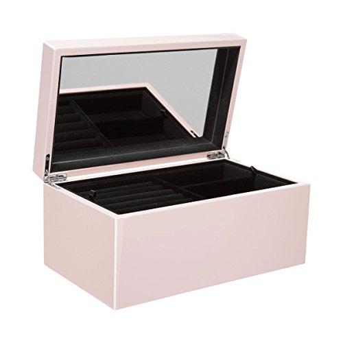 GIFTCOMPANY - Schmuckbox, Schmuckkasten - Tang - Farbe: Blush/Rose - Maße: (L/B/H) 28,0 x 17,0 x 13,0 cm