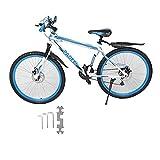 YLWL Almacén 18/21/27 Velocidad Bicicleta de montaña Bicicleta 26 Pulgadas Marco de Acero o Aluminio MTB Dropshipping