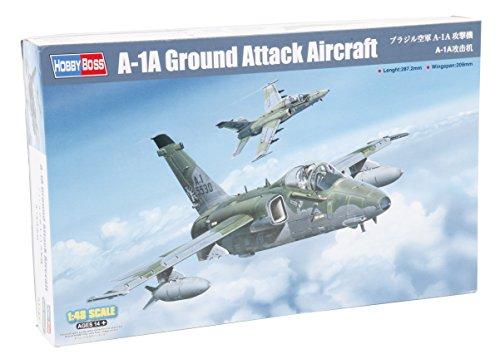 La maquette de l'avion de chasse AMX Ghibli