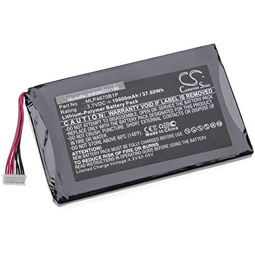vhbw Akku passend für Autel Maxisys MS906TS Messgerät (10000mAh 3,7V Li-Polymer)