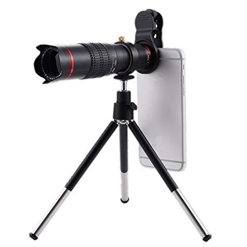 MUYU Telefoon Fotografie Kit Telefoon Statief 18X Monoculaire Telefoon Lens Voor iPhone X 8 7 6 Plus Samsung Smartphone