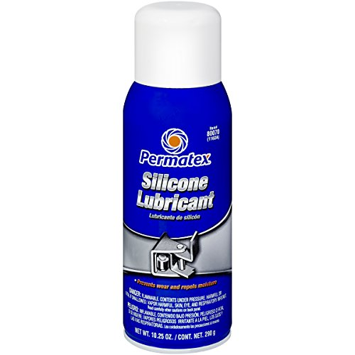Permatex 80070 Silicone Spray Lubricant, 10.25 oz. net Aerosol Can