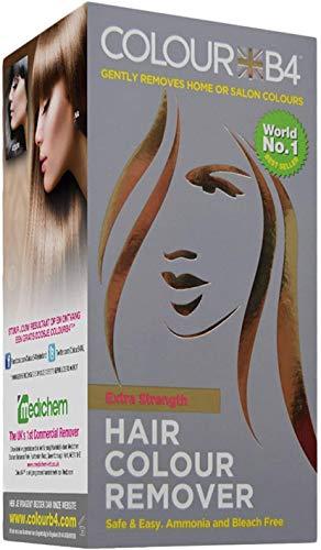 Colour B4 Extra I Effaceur de coloration I Lot de 3 I Teinture Cheveux Couleur Naturel Décolorant