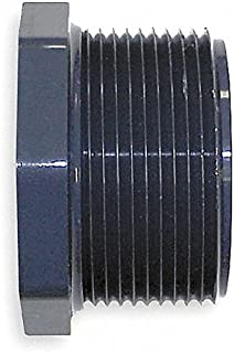 Nibco 839-210 4518-3-4 PVC Reducer Bushing, MPT x FPT, 1-1/2