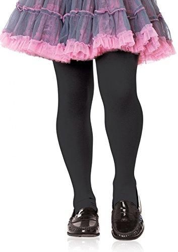Leg Avenue Opaque Collants, 464612001, Black, 7-10 Ans