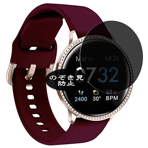 VacFun Anti Espia Protector de Pantalla, compatible con iTouch Sport SE Smartwatch Smart watch, Screen Protector Filtro de Privacidad Protectora(Not Cristal Templado)