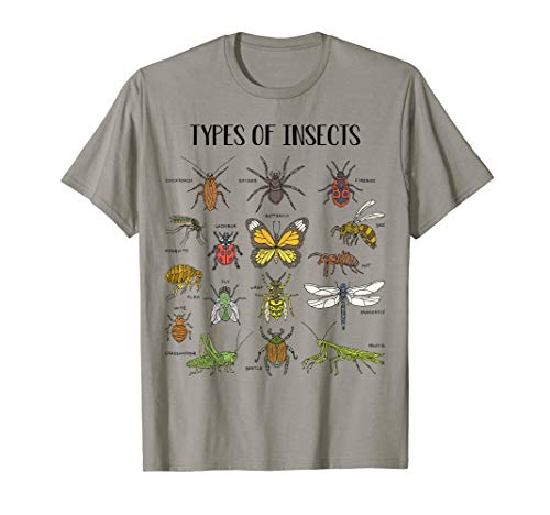 Insect Bug Roach Mealy bug, Types Of Insects Gift For Kids T-Shirt