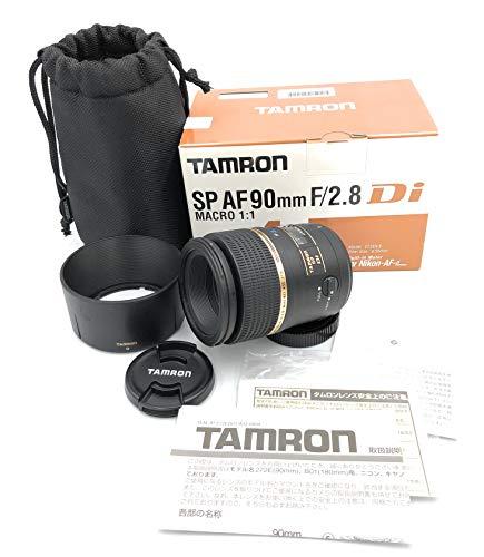 Tamron 272ENII SP AF 90 mm F/2.8 Di Macro 1:1 - Objetivo para Nikon (Distancia Focal Fija...