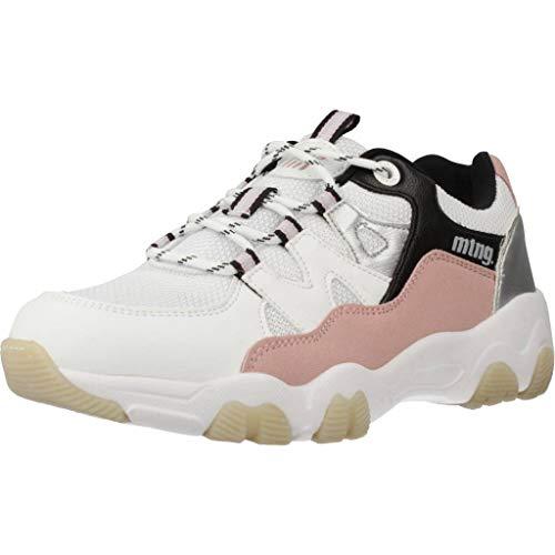 MTNG Attitude 69957, Zapatillas para Mujer, (Mesh Yt 0849 White, C49077) (38)