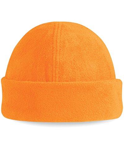 Beechfield BC243 Suprafleece Ski Hat - Fluorescent Orange - One Size