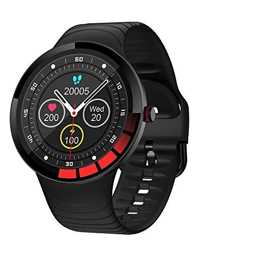Reloj Inteligente, Smartwatch Hombre Mujer Impermeable IP68 Pulsera Actividad de Fitness con Pulsómetro, Cronómetros, Calorías, Monitor de Sueño, odómetro Pulsera, para Android e iOS