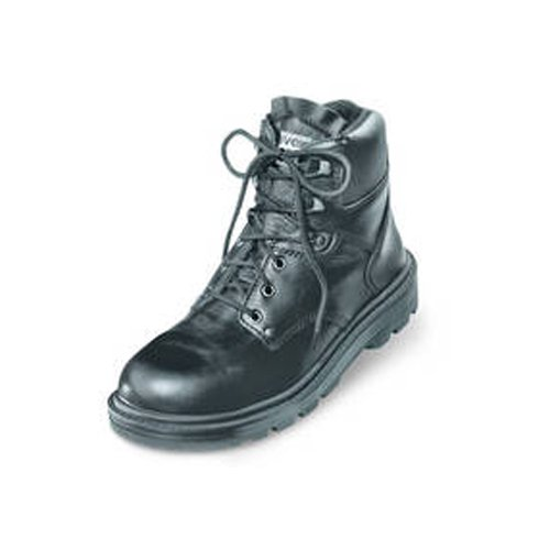 Uvex 8451.9–13Classic Schnürschuhe Sicherheit Stiefel mit Hydroflex 3D Schaum Einlegesohle, S2, EU 48, Größe 13, Schwarz