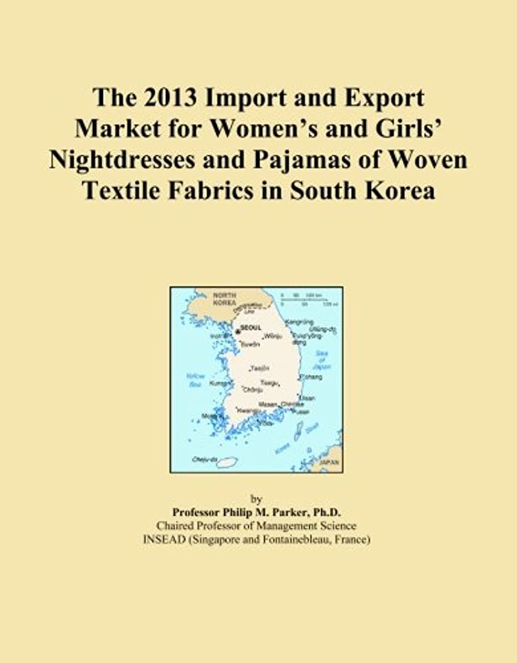 リンスメンテナンス瞑想的The 2013 Import and Export Market for Women's and Girls' Nightdresses and Pajamas of Woven Textile Fabrics in South Korea