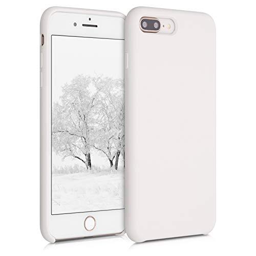 kwmobile Hülle kompatibel mit Apple iPhone 7 Plus / 8 Plus - Handyhülle gummiert - Handy Hülle in Jet Stream