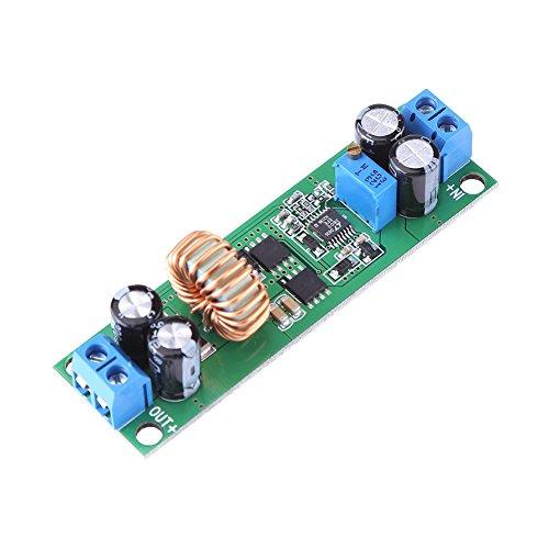 VBESTLIFE Modulo convertitore Buck, regolatore di Tensione DC 6.5V-60V Step Down a 1.25-30V 10A Riduttore di Alimentazione Regolabile