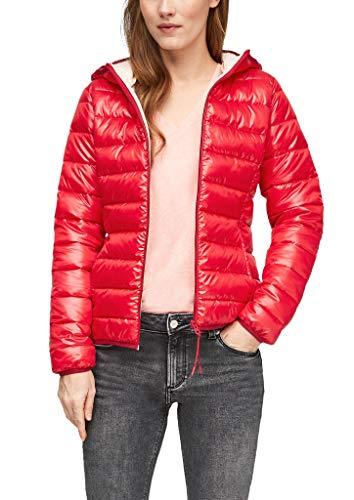 Q/S designed by - s.Oliver Damen Gesteppte Jacke mit Kapuze red XS