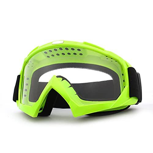 spier Gafas de moto anti-UV ATV, gafas de motocross, gafas de motocross, gafas de protección para hombre, mujer, niños, jóvenes y adultos