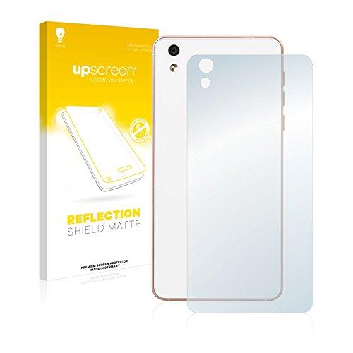 upscreen Entspiegelungs-Schutzfolie kompatibel mit Medion Life X5020 (MD 99367) (Rückseite) – Anti-Reflex Bildschirmschutz-Folie Matt