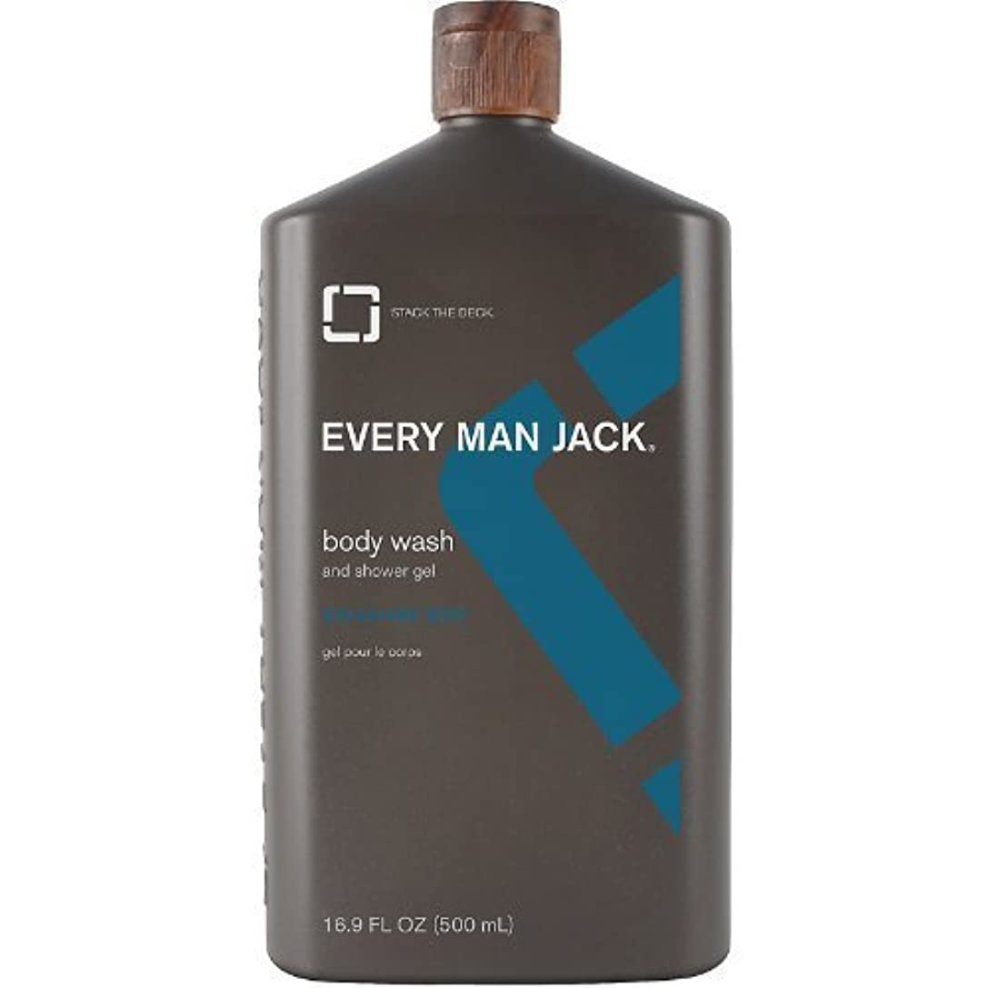 時々時々人物糞Body Wash - Signature Mint - 16.9 oz by Every Man Jack