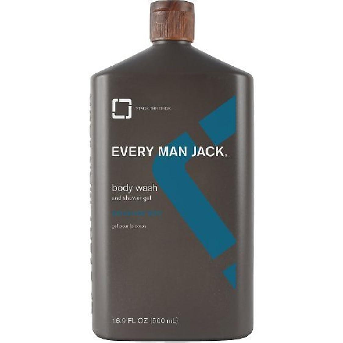 マングルしかし灌漑Body Wash - Signature Mint - 16.9 oz by Every Man Jack