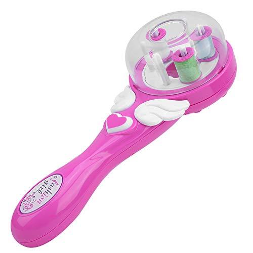 Hair Braiding Toll, Twisting Braider Styling Tools, 9,4 x 3,6 Zoll Pink für Kinder Kleine Mädchen Mütter über sechs Jahre alt(Braiding device standard)
