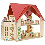 Eichhorn 2508 - Puppenhaus mit Wintergarten