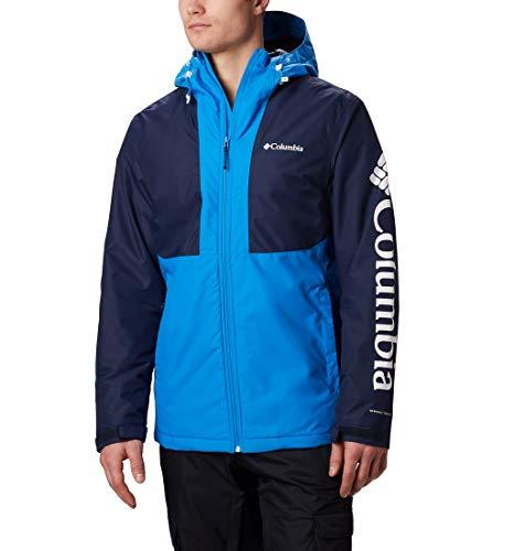 Columbia Herren, Timberturner, Wasserdichte Wintersportjacke ,Azure Blue, Collegiate Navy ,M