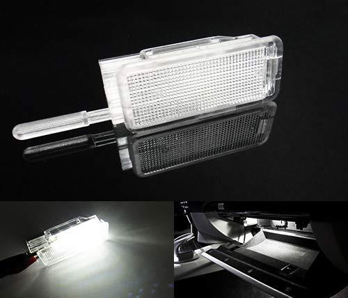 1 éclairage LED pour intérieur de coffre de voiture et boîte à gants Blanc Pour C3 C4 C5 C6 DS3 DS5 Dispatch 206 207 307 308 3008 407 RCZ