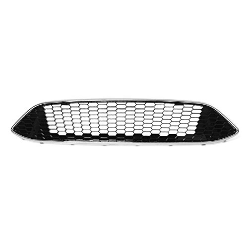 JenNiFer Für Ford Focus Mk3 Zetec S Sport Honeycomb Mesh Front Bumper Centre Grille Panel