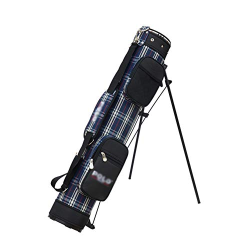 Pencil Golf Bag, Golf Carry Bag Lightweight Travel Bag, Foldable Case Golf Club Sunday Bag, for up to 9 Irons