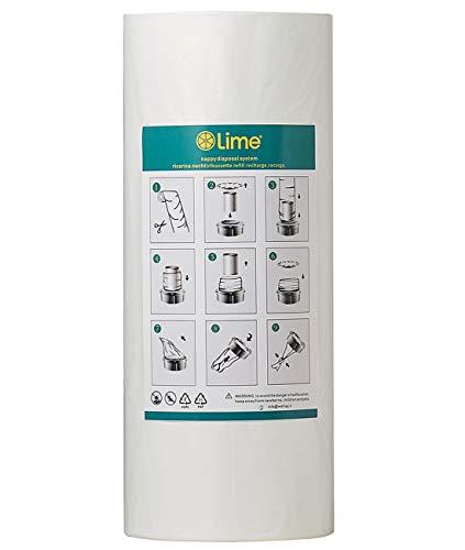Recharges Poubelle compatible avec Tommee Tippee Sangenic Tec | Litière Locker II, réduire les odeurs (250m sans tube)