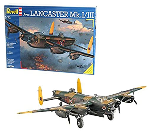 Revell- Avro Lancaster MK. I/III Kit Aeromodello, Multicolore, 04300