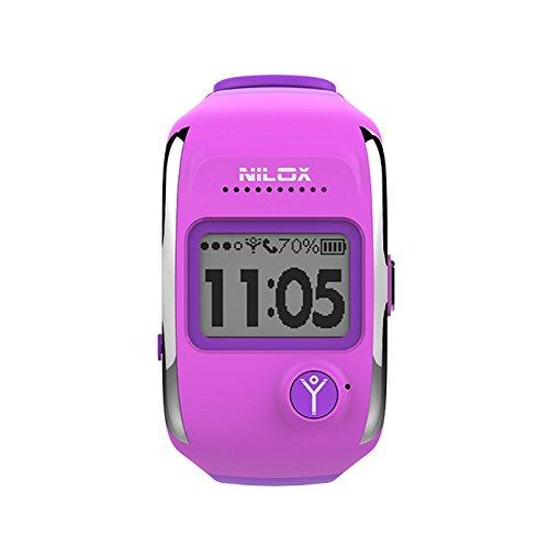 Nilox Bodyguard Smartwatch e Tracker GPS, Viola