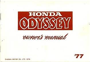 3195001 Used 1977 Honda FL250 Odyssey Owners Manual