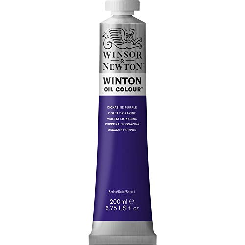 Winsor & Newton Winton Oil Color Paint, 200-ml Tube, Dioxazine Purple