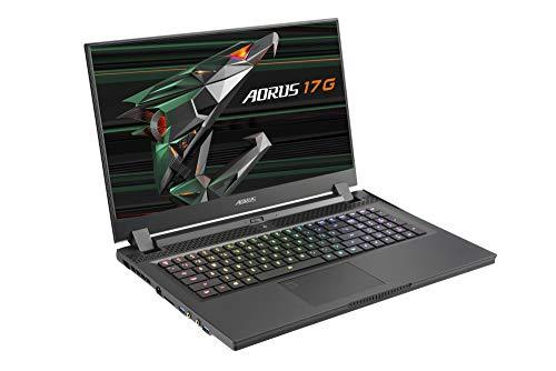 GIGABYTE AORUS 17G XC-8DE6430RH Intel Core i7-10870H 43,94cm 17,3Zoll FHD RTX 3070 8GB GDDR6 512GB SSD 2x16GB DDR4 W10H 2YW