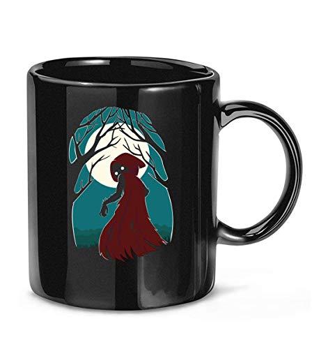 N\A Taza de café de Triple Mezcla de Caperucita roja 2 para Mujeres y Hombres Tazas de té