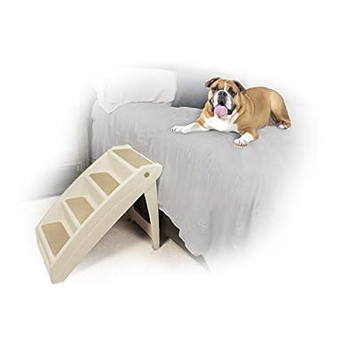 Solvit PetSafe PupSTEP Plus Pet Stairs, X-Large, Foldable Steps Dogs Cats, Best Medium to Large Pets