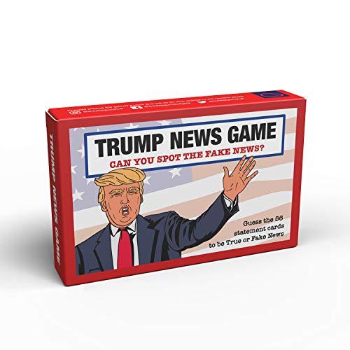 Bubblegum Stuff - Trump News Spiel | Guess The Fake News Trump Zitat Comedy Kartenspiel | Geeignet für Familie, Kinder, Jugendliche und Erwachsene
