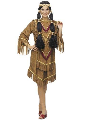 César A124-002 - Disfraz de india, talla 42/44