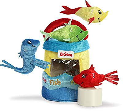 "Aurora - Dr Seuss - 8"" Dr. Seuss Fish Playset"