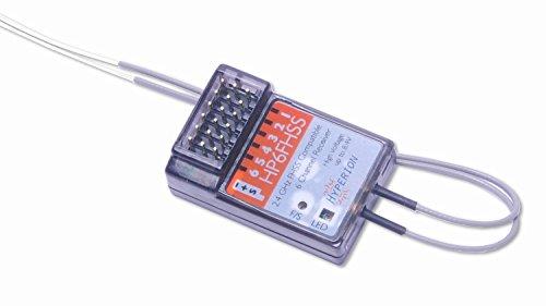 HP6FASST 2.4Ghz 6Ch FASST Compatible Receiver (HP-6RXFASST)