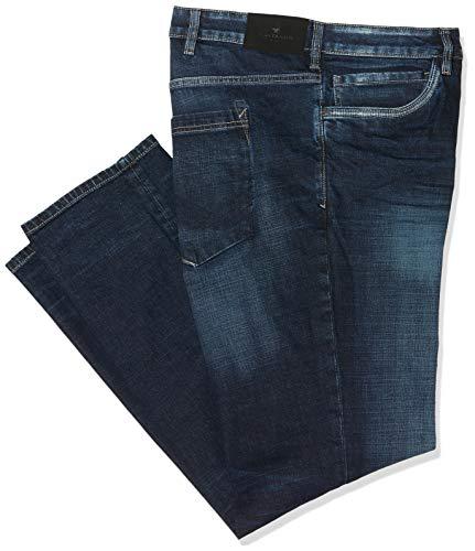 TOM TAILOR Men+ Herren TBD Slim Jeans, Blau (Dark Stone Wash Deni 10282), 48W / 34L